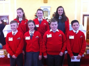 Cranny National School Confirmation Class 2015.