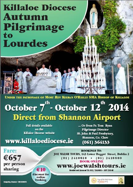Killaloe Autumn Pilgrimage Poster 2014