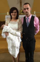 Moya Rose Moloney on her baptism day 14 July 2016,